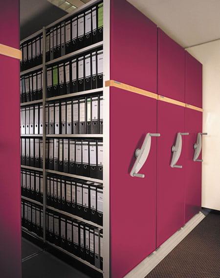 Mobile Office Shelving