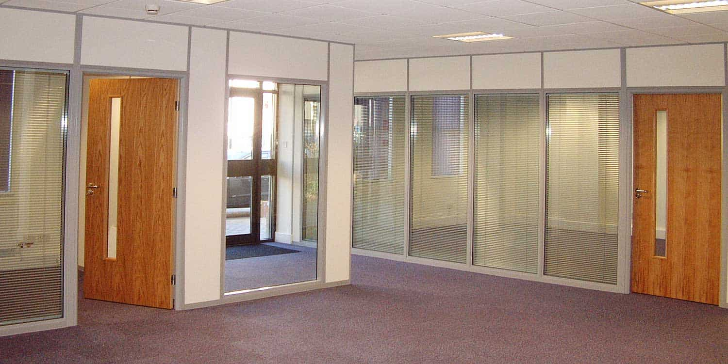 Double glazed window units with integral blinds