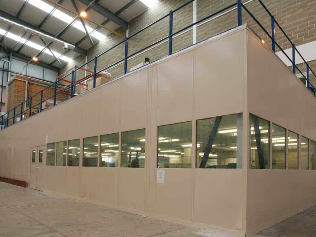 Mezzanine Floor Enclosures
