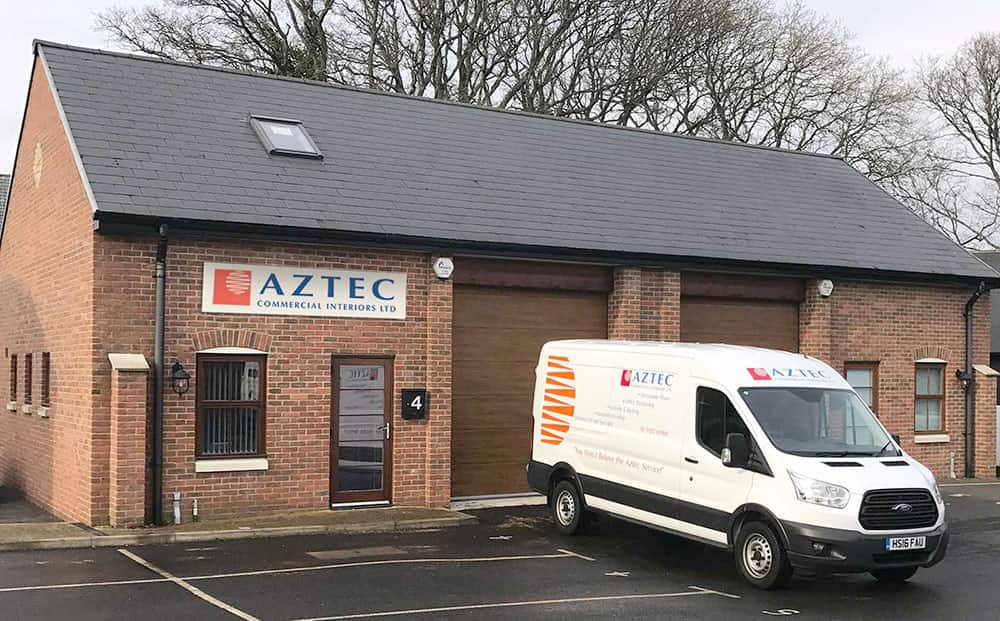 Aztec Commercial Interiors Ltd. Office