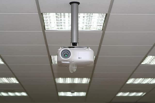 Suspended Ceiling with Projector