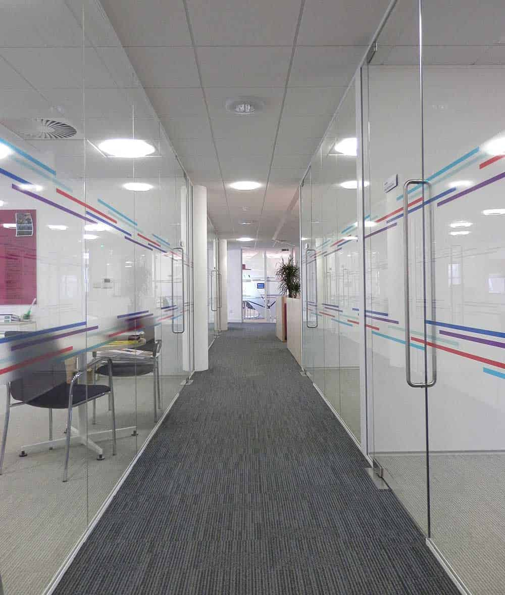 Executive Glazed Office Partitions