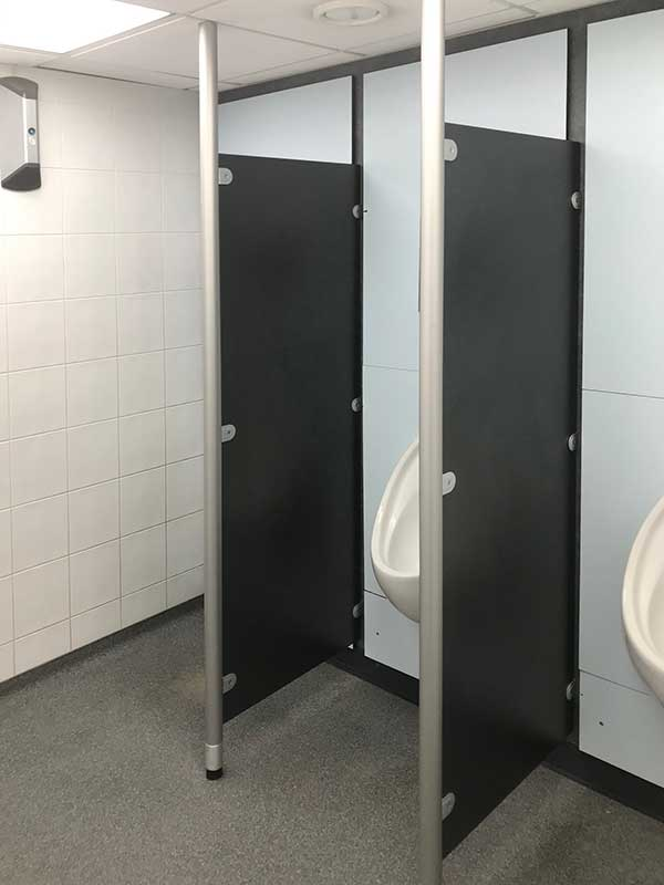 Covid Secure Urinal Screens