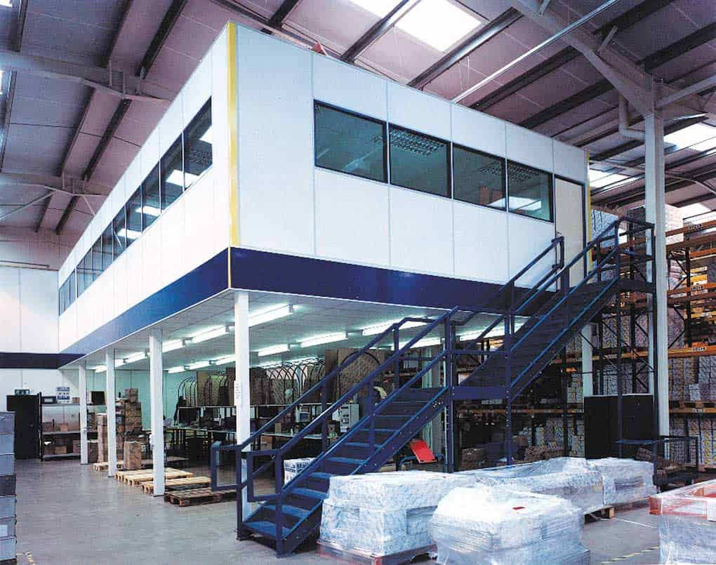Mezzanine Floor Warehouse Offices