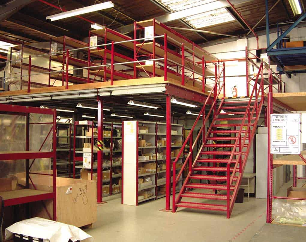 Mezzanine Floor Warehouse Storage