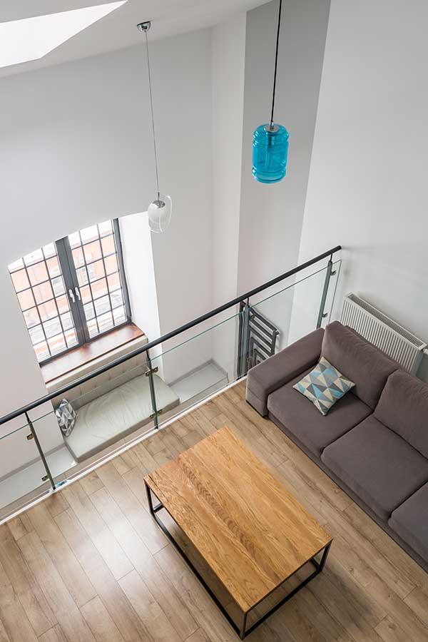 Mezzanine Floor Meeting Area