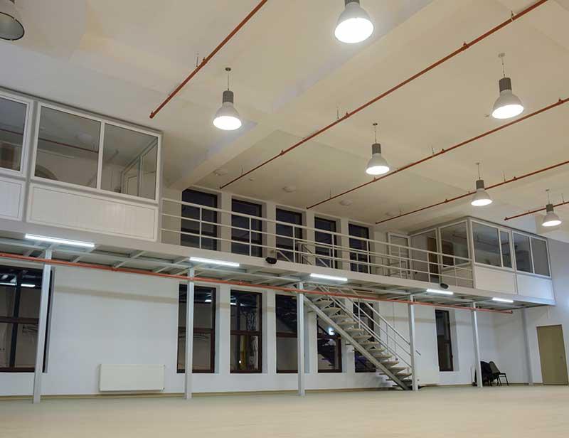 Mezzanine Floor With Offices