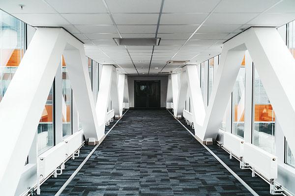 Suspended Ceiling - Corridor